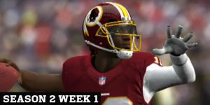 Robert Griffin III threw for 5 touchdowns during the Redskins 30-38 win over the Cowboys