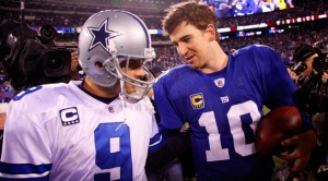 Tony Romo and Eli Manning are ready to renew their rivalry.