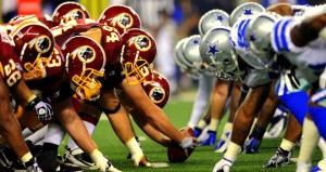 Redskins look to sweep season series vs the Cowboys