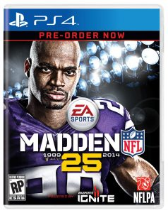 Madden 25 PS4 Cover