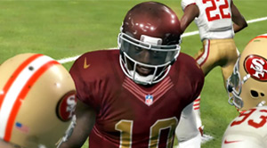 RG3 and the Redskins win their second meeting vs the 49ers.