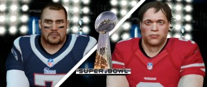 The Patriots and 49ers are ready to go for 2K OLF Super Bowl II