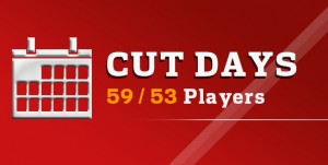 Cut Days 59/53 Players