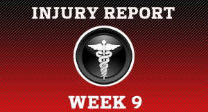 Take a look at all the injures from around the league.