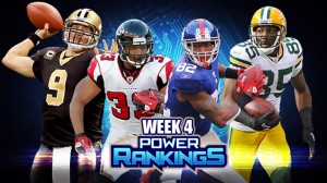 Week 4 Power Rankings!
