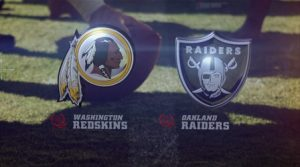 The Redskins snap the Raiders 3 game unbeaten streak.