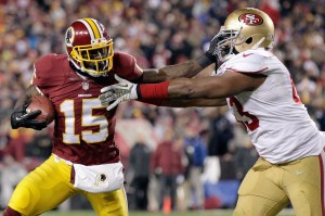 The 49ers couldn't stop the Redskins this week