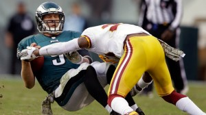 Eagles suffer a tough loss against the Redskins