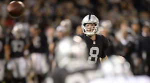 QB Tyler Wilson is playing great this season for the Raiders