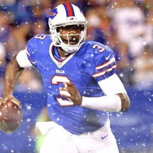 E.J. Manuel leads Bills to first ever playoff win.