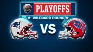 The Patriots will look to redeem last weeks loss by knocking out Bills in wildcard round