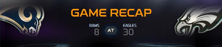 Season 5 - Week 5: St. Louis Rams vs Philadelphia Eagles