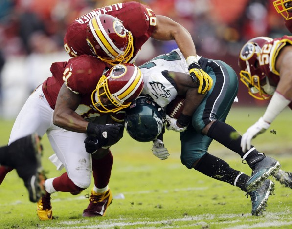 The Eagles and Redskins go head to head in this week's Game Of The Week.