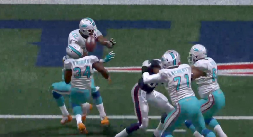 Dolphin fans, along with the rest of the football world, couldn't believe the way the game ended.