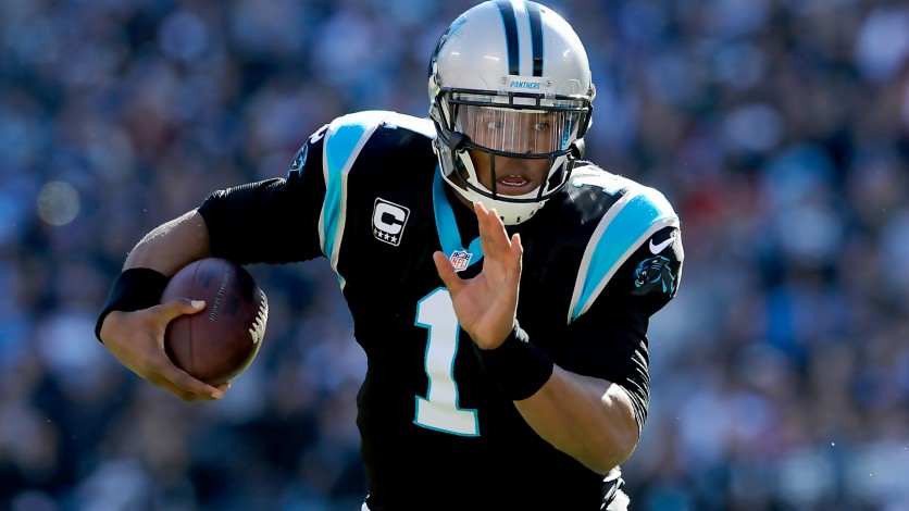 """Cam """"Superman"""" Newton and the Carolina Panthers  shutout the Lions to advance to the NFC Championship."""