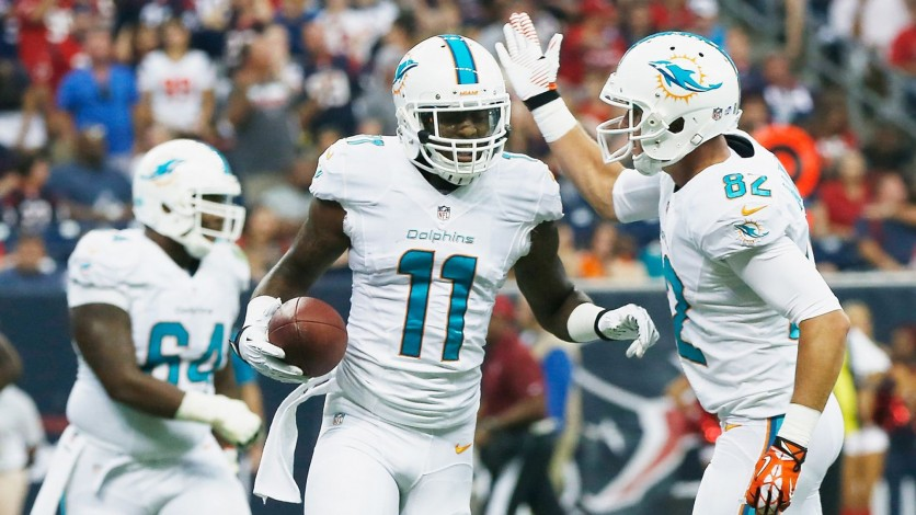 The Dolphins came away victorious in their first ever playoff game.