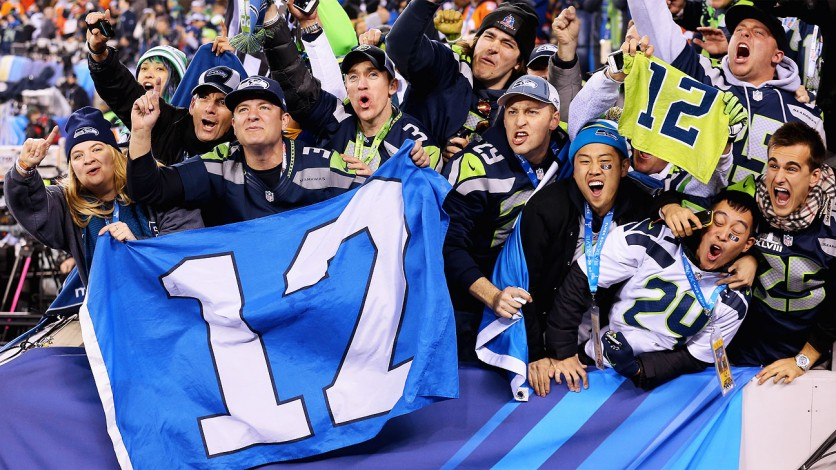 The Seahawks and 12th man are ready for another playoff run.