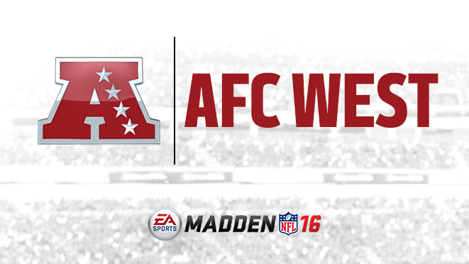 Madden NFL 16 AFC team ratings