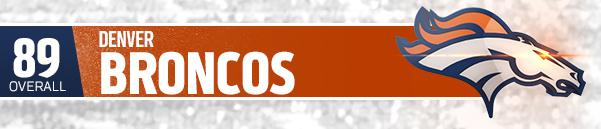 DENVER BRONCOS (TEAM 89 OVR)