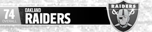 OAKLAND RAIDERS (TEAM 74 OVR)