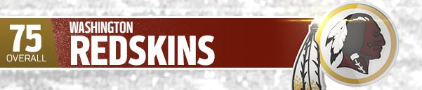 WASHINGTON REDSKINS (TEAM 75 OVR)