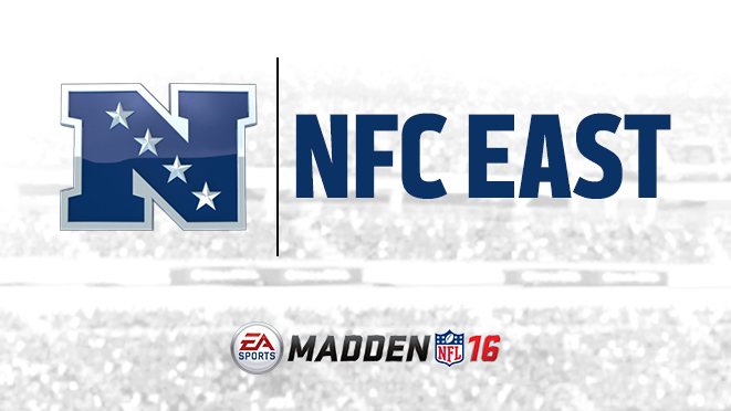 NFC East Team Ratings