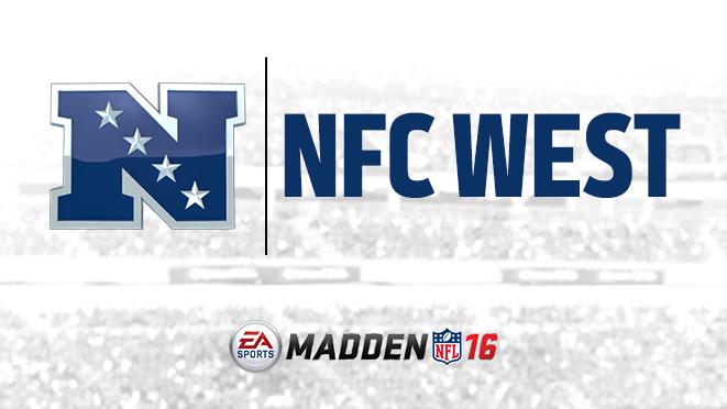 NFC Team ratings for Madden NFL 16