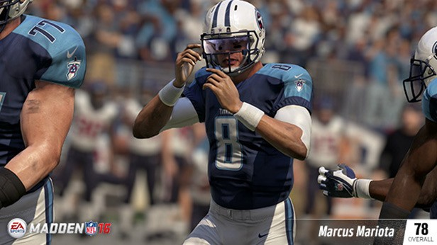 MARCUS MARIOTA (78 OVR) TENNESSEE TITANS QB (2ND OVERALL) 6'4, 222 POUNDS