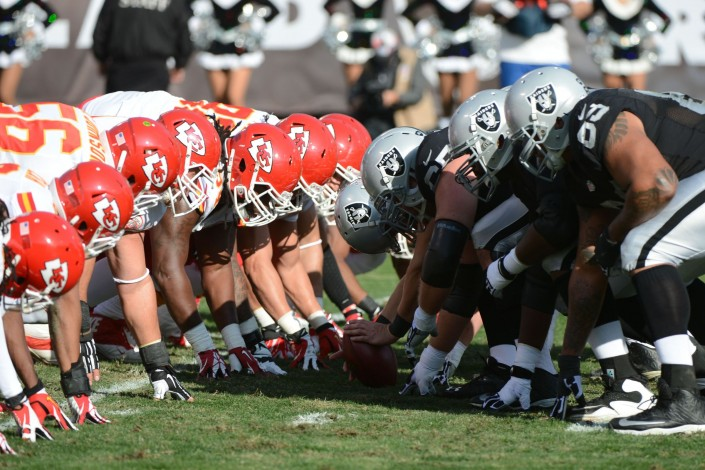 The Kansas City Chiefs take on the Oakland Raiders in this week's Game Of The week.