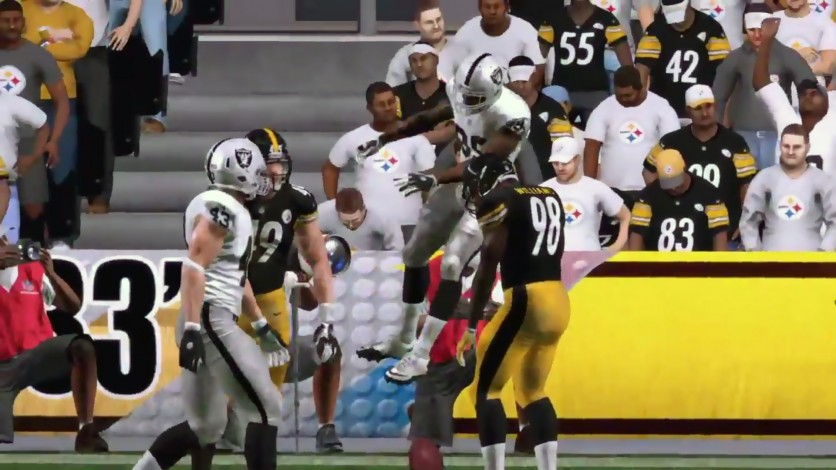 Raiders come away with pre-season win against the Steelers.