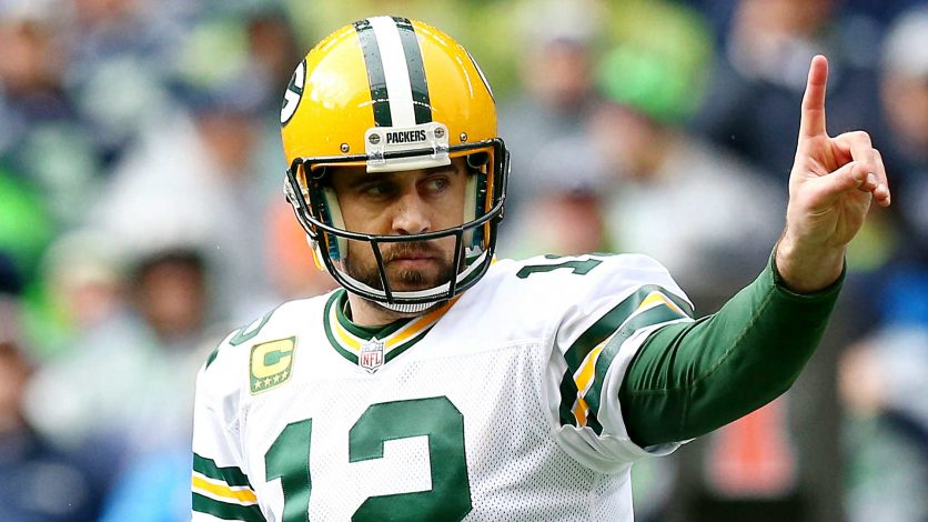 Aaron Rodgers and the Packers take on Eli Manning and the Giants in this week's game of the week.