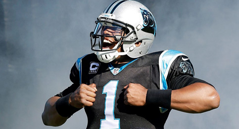 """Superman"" Cam Newton takes on the Cowboys in NFC Divisional round"