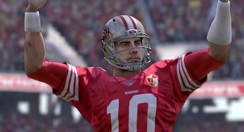 Jimmy Garoppolo and the 49ers took care of the Buccaneers in a wild playoff game