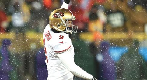 Phil Dawson kicks the 49ers into the NFC Championship