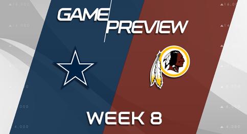 Game Preview: Dallas Cowboys vs Washington Redskins