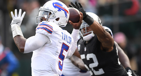 Buffalo Bills fall at home to the Oakland Raiders
