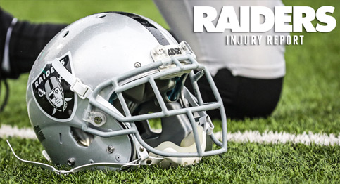 Check out the Raiders latest injury report