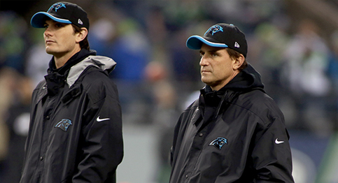 Panthers fire offensive coordinator Mike Shula and QB coach Ken Dorsey